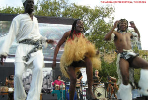 African festival entertainment