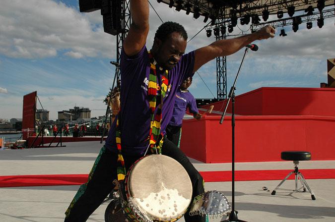 African Drumming Gold Coast Marathon