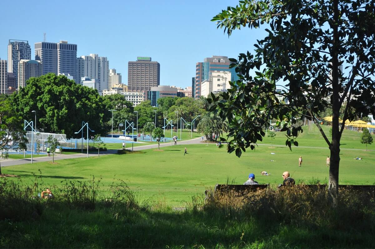 Team building Sydney at Prince Alfred Park with African Beat
