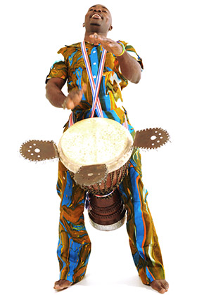 Master Drummer Tuza